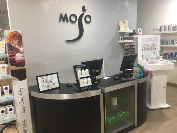 Mojo Hair & Beauty Salon set within the David Lloyd Club near Chorley