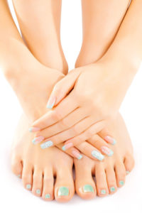 pedicure nail treatments in chorley at mojo beauty salon