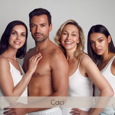 CACI non-invasive anti-ageing treatments for both men and women at Mojo hair & beauty salon in Chorley near Blackburn.
