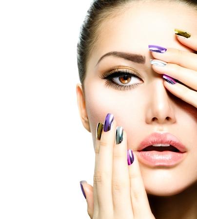 gel nail extensions at mojo nail bar david lloyd gym chorley