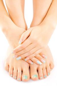 pedicure nail treatments in chorley at mojo beauty salon