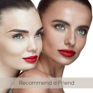 Recommend a friend and receive 50% off your next cut and style at mojos hair salon chorley