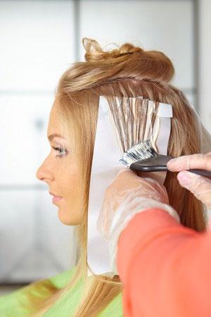 hair colour transformations