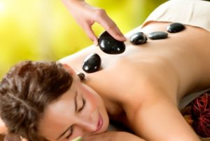 hot stone aromatherapy Massage at mojo beauty salon in chorley manchester