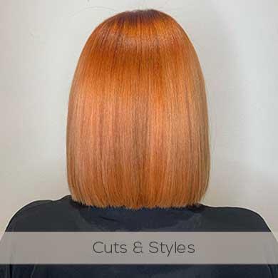 Ladies hair cuts and styles at top Chorley hair salon near Preston, Blackburn.