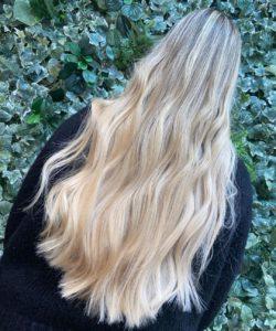 long hair styles at Chorley's top hair salon mojos