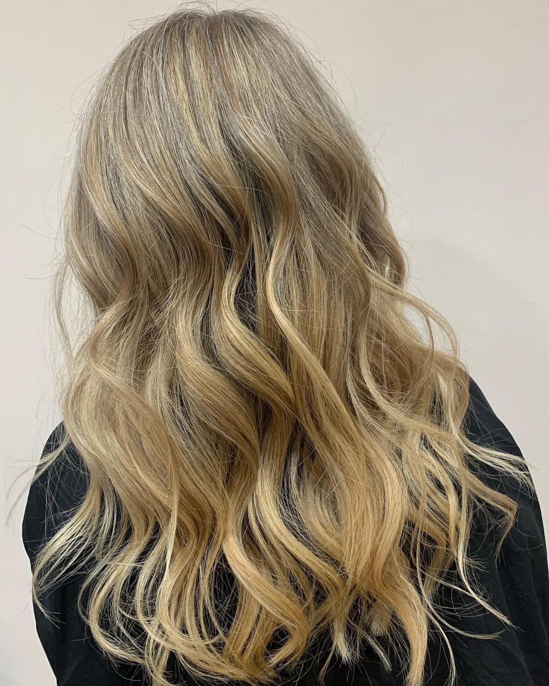 Foil highlights at mojo hair salon in Chorley