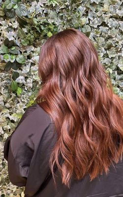 RED BALAYAGE HAIR COLOUR SPECILAISTS IN CHORLEY