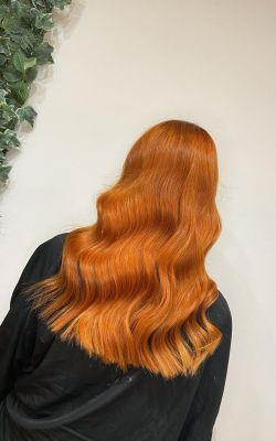 RED HAIR COLOUR SPECILAISTS IN CHORLEY